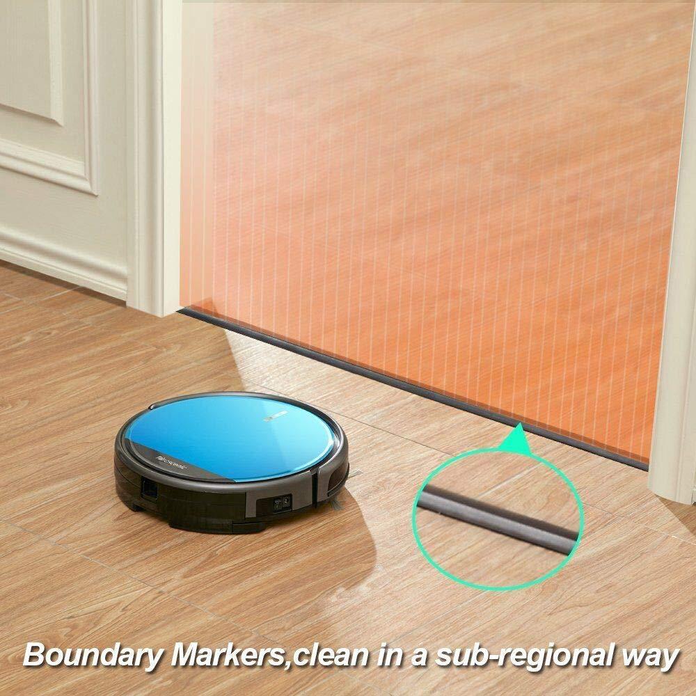 le robot aspirateur nettoyeur de sol proscenic 790T : tests